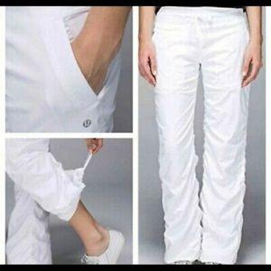 Lulu lemon dance studio pants lined
